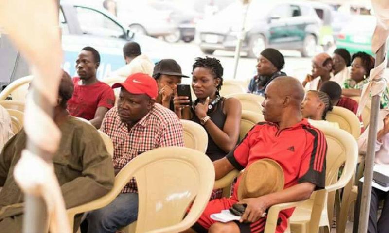 FREE MEDICAL OUTREACH AT GWARINPA MARKET, ABUJA, NIGERIA